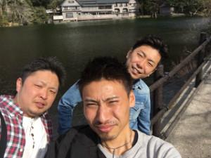 先日の休みにスタッフと日帰り温泉に行ってきました。
